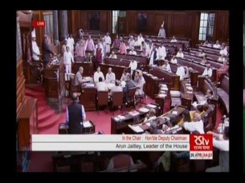 Arun Jaitley on Uttarakhand in Rajya Sabha