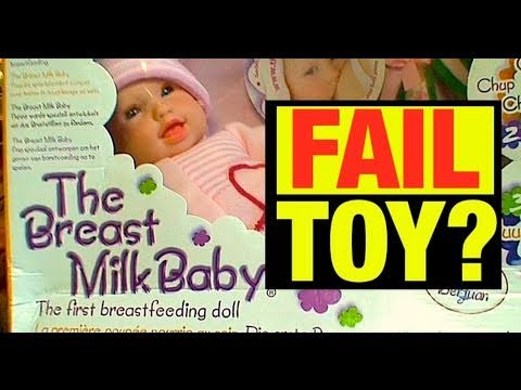 Fail Doll Review? You Decide! by Mike Mozart  @JeepersMedia YouTube