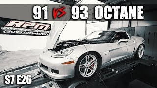 Power difference between 91 & 93 octane  | RPM S7 E26