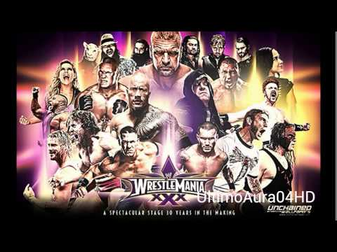 2014: Wrestlemania 30 1st Official 30th WWE Theme Song - Celebrate...