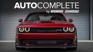 AutoComplete: Dodge brings Demon looks to 2018 Hellcat Widebody