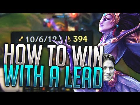 Scarra- HOW TO WIN WITH A LEAD!?