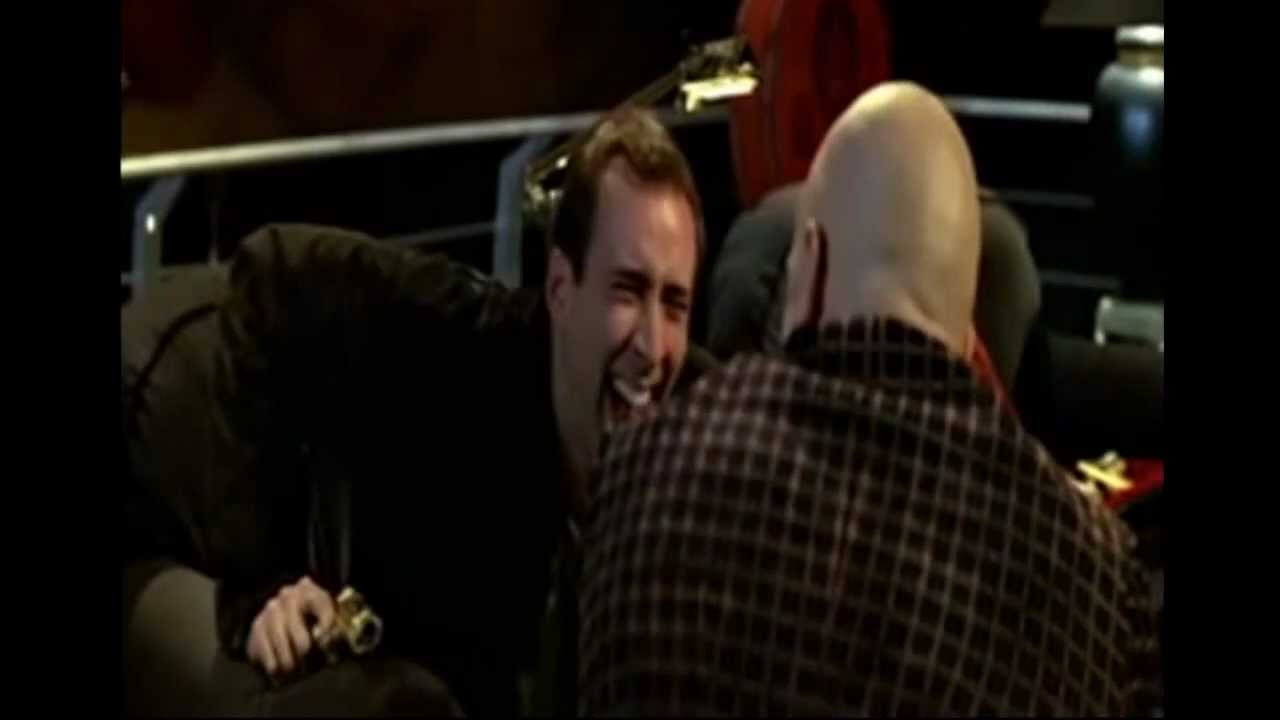 Nicolas Cage Face Off No Face LOL   laugh out loud