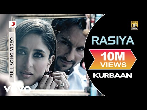 Kurbaan -- Rasiya Extended Video feat. Kareena Kapoor
