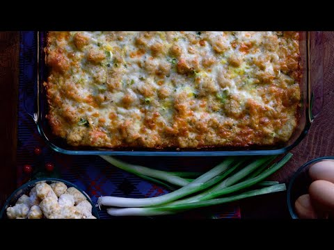 How to make Tater Tot Breakfast Casserole thumbnail
