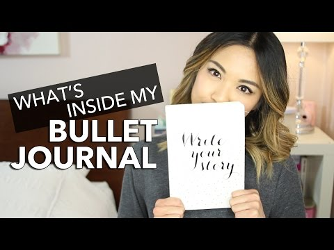 What's In My Bullet Journal | beautybitten