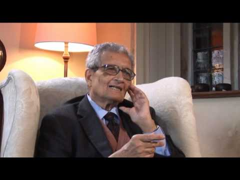 64 minutes interview with Amartya Sen on the Quality of Life (Part 1)