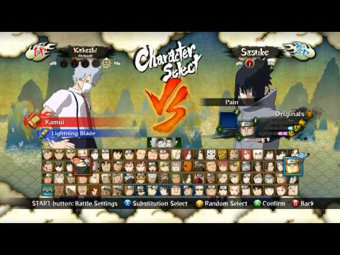 naruto ultimate ninja storm 3 full burst all character