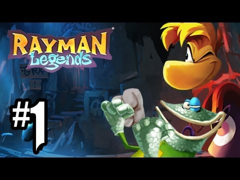 Rayman Legends Gameplay Walkthrough Part 1 Teensies In