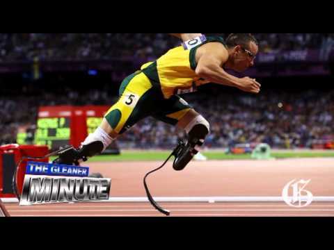 THE GLEANER MINUTE: Pistorius' girlfriend was in love with Jamaica