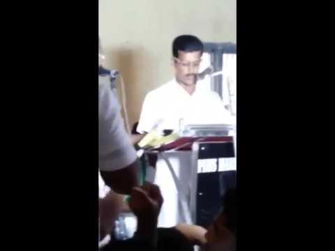 Egg Thrown at Panchayat Member While Promising In | News Video | Manorama Online