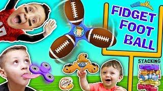 FIDGET SPINNER FOOTBALL GAME + TRICKS + FIDGET BEYBLADES + SPINNING TIMES + Goldfish + FUNnel V