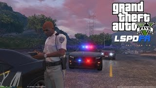 GTA 5 - LSPDFR - EPiSODE 8 - LET'S BE COPS - HIGHWAY PATROL  SPEED RADAR(GTA 5 PC POLICE MODS)