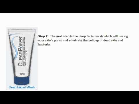 Clogged Pores Acne Aid Treatment - Clear Pores System