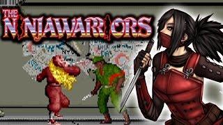 Ninja Warriors: Arcade Co Op Playthrough Longplay
