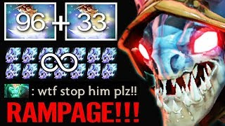 RAMPAGE Slark Max Speed !! 450 Agility Stealer & Moon Shard Crazy Fun Dota 2 by Timado