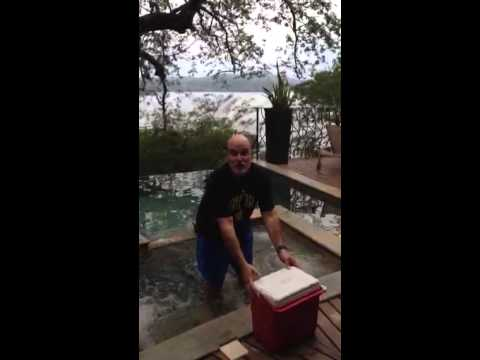 Ricky Wheeler Ice Bucket Challenge - Costa Rica