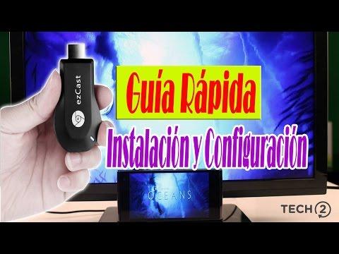 Ezcast M2!! Review en español! Ezcast convierte tu televisor normal en un SmarTv!!