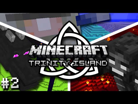 Minecraft: Trinity Island Hardcore Survival Ep. 2 - PRAISE THE TREE