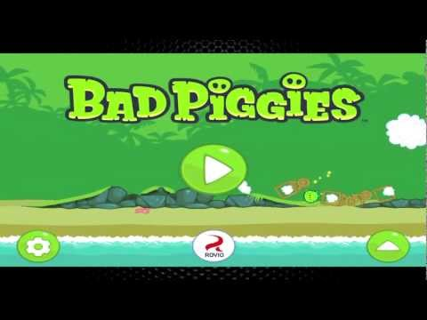 review / revisado bad piggies juego para ios y android