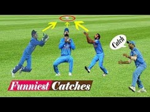 Top 10 Funniest Catches Dropped in Cricket History Ever