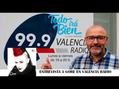 Entrevista a Gore en Valencia Radio con Paco Cremades