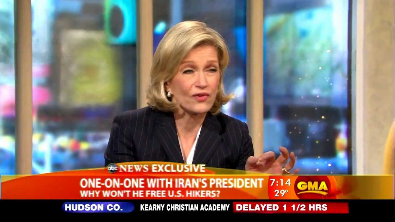 Good Morning America Diane Sawyer : Diane sawyer back on good morning america youtube