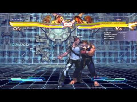 SFxT Practical Cross Rush/Tag Finishers: King, Yoshimitsu, Lili