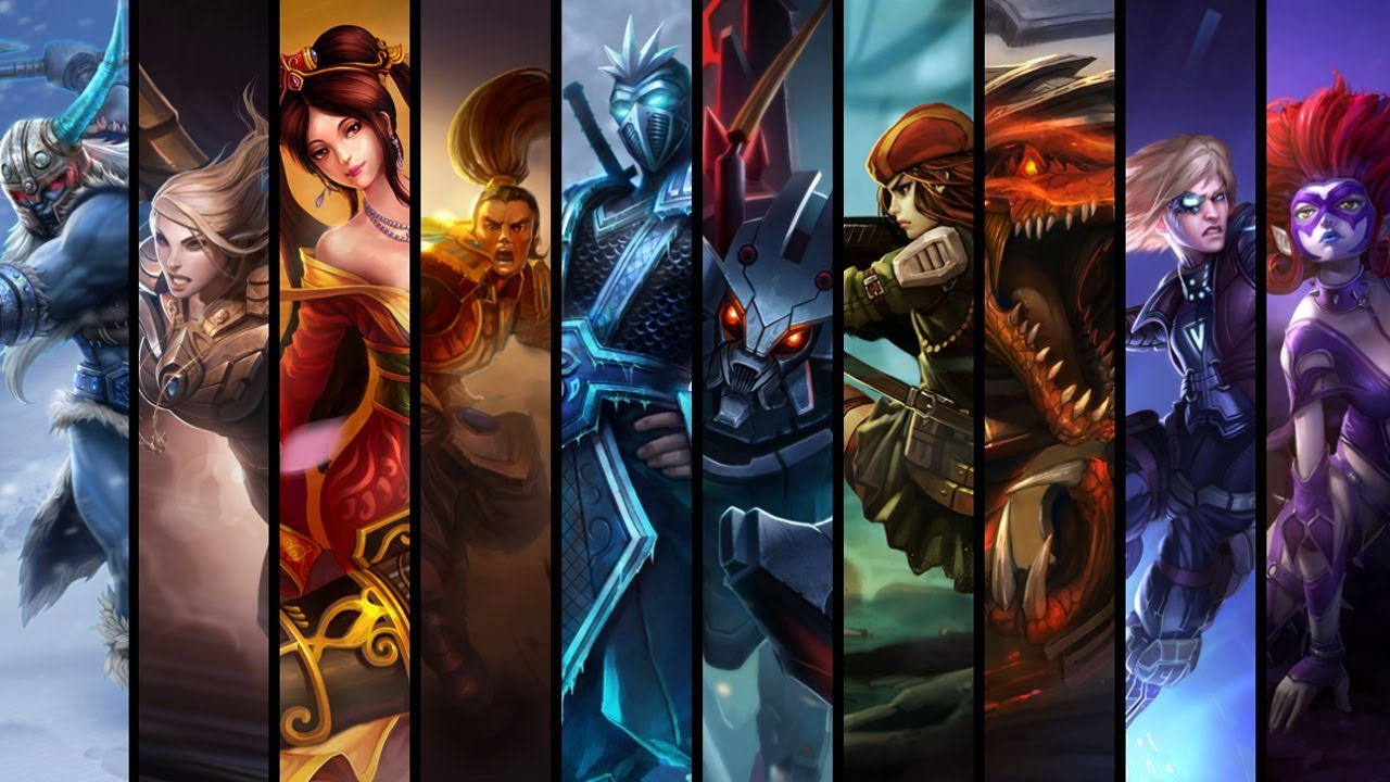 league of legends champions best