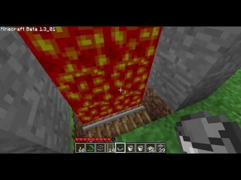 Minecraft - Les MDC 2 Le portail lave