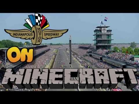 Indianapolis Motor Speedway on MINECRAFT Xbox 360