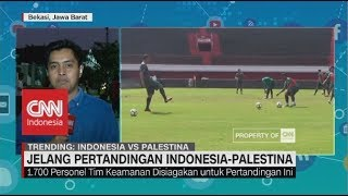 Jelang Pertandingan Indonesia vs Palestina | Asian Games 2018