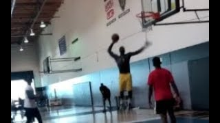 (UNREAL) LANCE STEPHENSON IS TRAINING IN HIS NEW LAKERS SHORTS LIKE A POSSESSED ANIMAL!