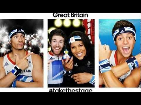 Team GB Athletes Kit Photos Tom Daley, Louis Smith, Heather Watson Olympics 2012