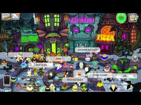 Club Penguin: Think Thursday - October 23, 2014