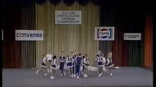 University of Kentucky Cheerleading 1990 UCA Championship