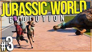 Jurassic World: Evolution | DINO ESCAPE (#3)