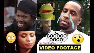 Safaree gets Booed & Stuff Thrown at him, 50 Cent Blames Nicki Minaj but 😲