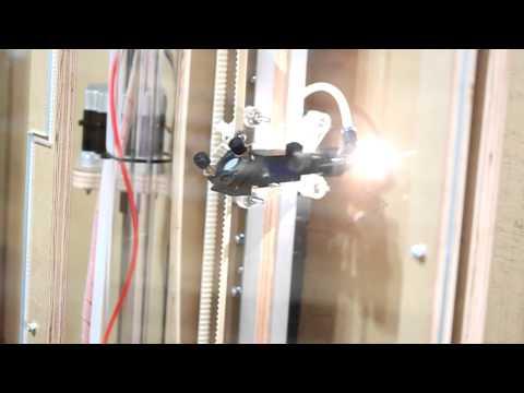 Build Your CNC - 80 Watt Vertical Laser XL 4'x8' Laser Cutter and Engraver