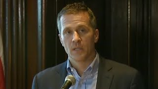 "Missouri Gov. Eric Greitens calls investigation ""political witch hunt"""