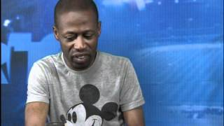 Shoggy Tosh on Lagos State Television's Sport's Splash with Godwin Enakhena & Emeka Nwani.