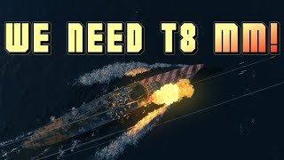 Roma 3.2k in tier 10 MM || World of Warships