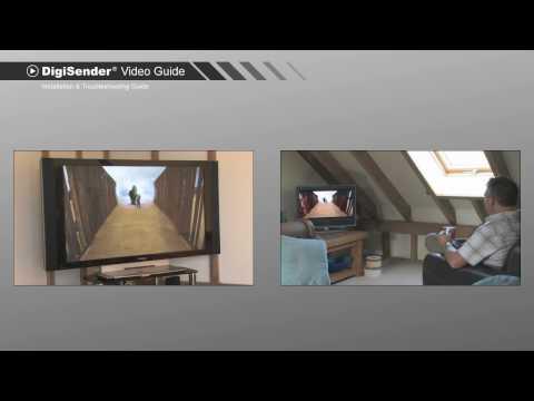DigiSender 5.8GHz Video Sender Installation & Troubleshooting Guide