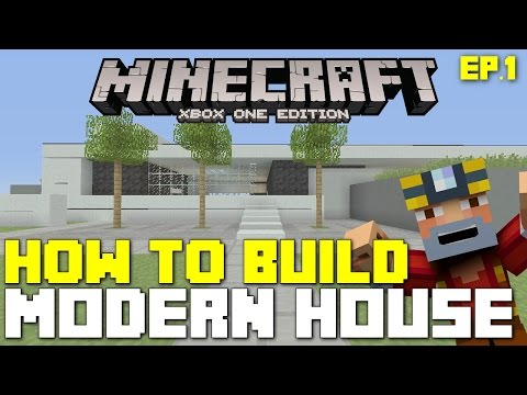 Minecraft Xbox 360/One: How To Build - Modern House! (New TU19 Features!)