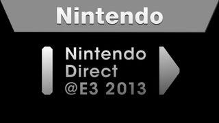 Nintendo Direct@E3 2013