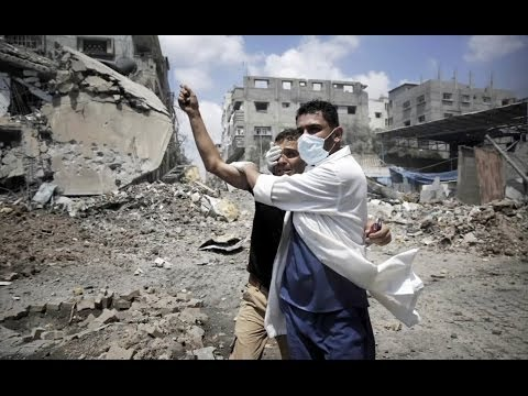 Locals struggle to escape violence in Gaza after bloody day