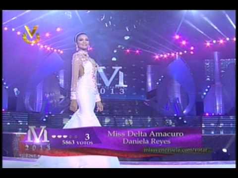 Eleccion Miss Venezuela 2013. Desfile Traje de Gala (1)