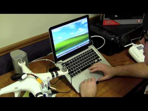 DJI Phantom Manual Pitch Setup for ARRIS CM2000 Brushless Gimbal Part 2