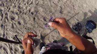 ENCUENTRO ENORME ANILLO (((i FOUND HUGE RING ))) day  after 4th of july  metal detecting