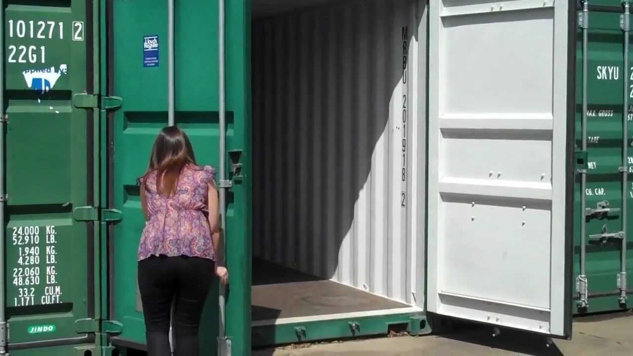 How To Operate Shipping Container Doors Www